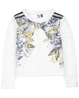 3Pommes Speckled Sweatshirt