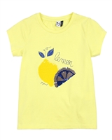 3Pommes T-shirt with Sequinned Lemons