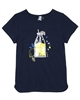 3Pommes T-shirt with 3D Lemonade Applique