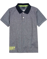 Quimby Boys Polo Shirt in Blue