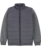 Quimby Boys Sweatshirt and Quilted Jacket