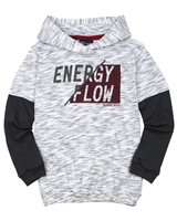 Quimby Boys Layered Look Hooded T-shirt