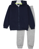 Quimby Boys Zip Front Hoodie and Pants Set