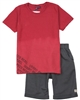 Quimby Boys Slub Jersey T-shirt and Terry Shorts Set