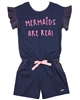 Quimby Girls Jacquard Jersey Romper
