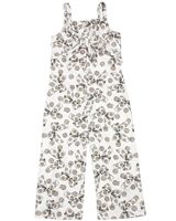 Quimby Girls Jumpsuit in Bows Print