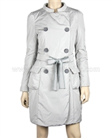 Silolona Women's Trench Coat