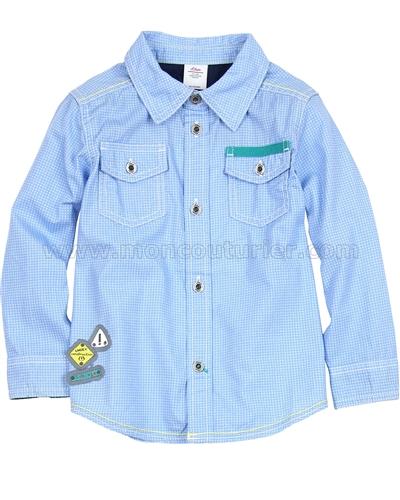 s oliver baby boys 39 check shirt. Black Bedroom Furniture Sets. Home Design Ideas