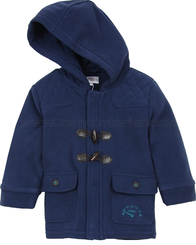 s oliver baby boys 39 pollar fleece duffle coat. Black Bedroom Furniture Sets. Home Design Ideas