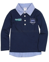 s.Oliver Baby Boys' Polo with a Layered Look