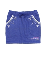 s.Oliver Girls' Sweatshirt Mini Skirt with Gemstones