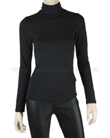 Siste's Women's Turtleneck Black