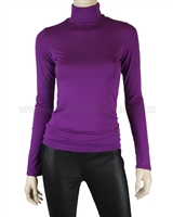 Siste's Women's Turtleneck Purple