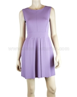 Siste's Pleated Sleeveless Dress in Lavender