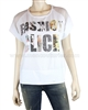Siste's T-shirt with Print and Crystals