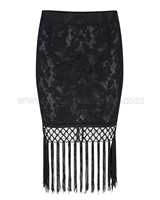 SuperTrash Womens Lace Skirt Suri
