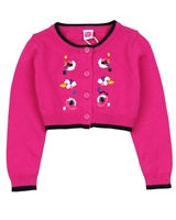 Tuc Tuc Little Girl's Bolero with Embroidery