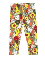 Tuc Tuc Little Girl's Leggings in Jungle Print