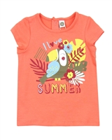 Tuc Tuc Little Girl's T-shirt with Jungle Print
