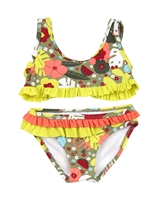 Tuc Tuc Little Girl's Bikini in Jungle Print