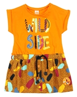 Tuc Tuc Little Girl's Wild Side Jersey Dress