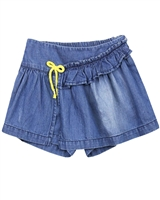 Tuc Tuc Little Girl's Chambray Skorts