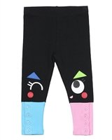 Tuc Tuc Little Girl's Leggings with Buttons