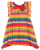 Tuc Tuc Little Girl's Striped Plisse Dress