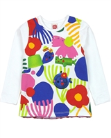 Tuc Tuc Little Girl's Top wth Plisse Back