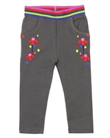 Tuc Tuc Little Girl's Terry Leggings with Embroidery
