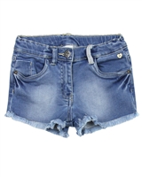 Tuc Tuc Girl's Jogg Jean Shorts with Frayed Hem