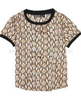 Tumble n Dry Girls Snake Print Top Mimi