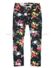 Tumble n Dry Girls Flower Print Denim Pants Maggie