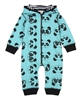 Turtledove London Hooded Jumpsuit in Panda Print