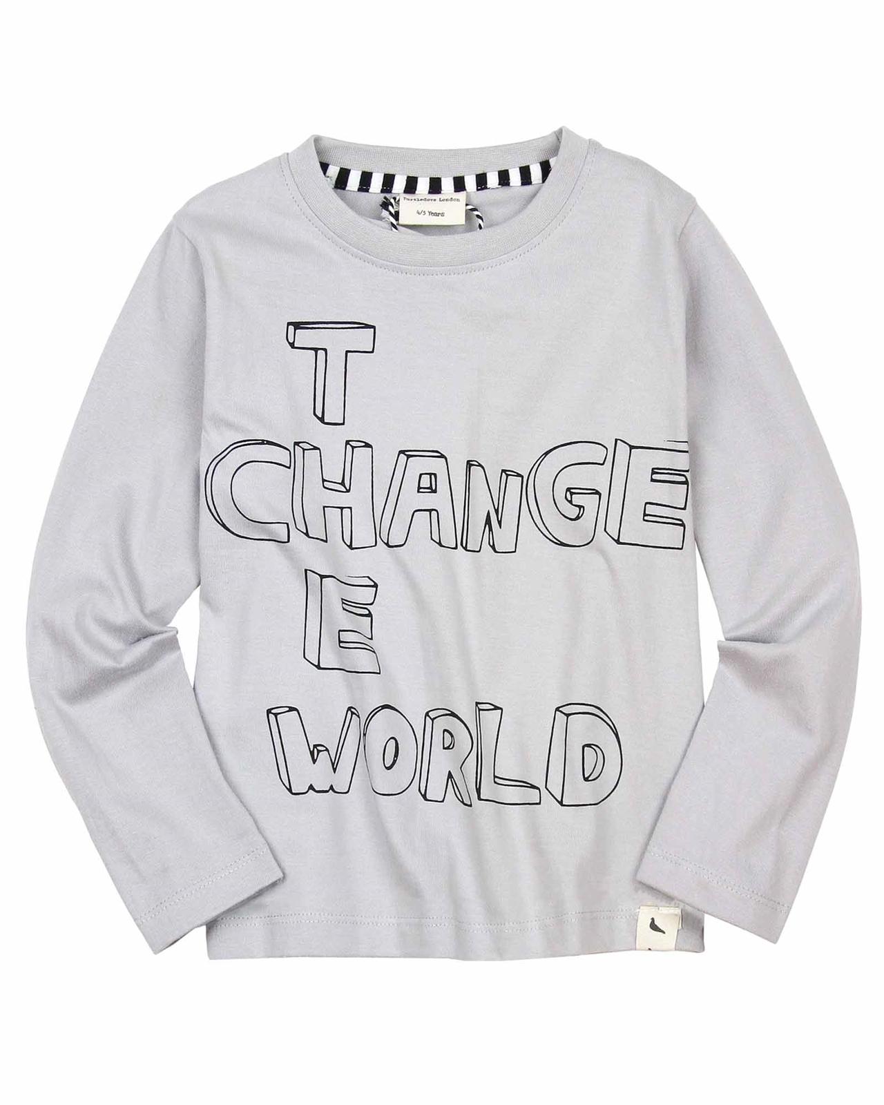 839cd9e41 Turtledove London Change the World T-shirt - Turtledove London ...